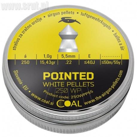 Śrut Diabolo Coal Pointed 5,5 mm 250 szt