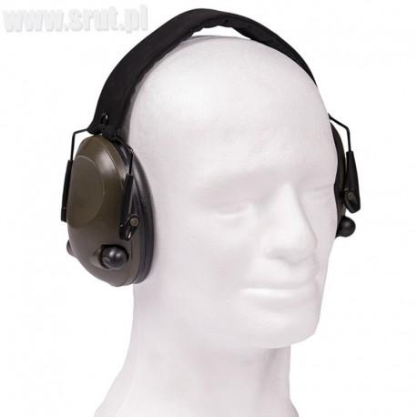 Ochronniki słuchu aktywne MIL-TEC Olive