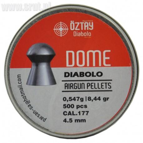 Śrut Diabolo Oztay Dome 4,5 mm 500 szt.