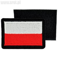 Emblemat Flaga Polski wz. 814/A/MON z rzepem