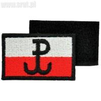 Emblemat Polska Walcząca z rzepem