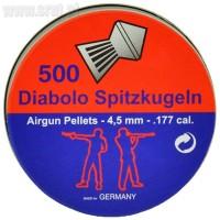 Śrut Diabolo Spitzkugeln 4,5 mm 500 szt.