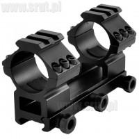 Montaż jednoczęściowy wysoki 30 mm Picatinny/Weaver