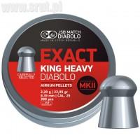 Śrut JSB Exact King Heavy MKII 6,35mm 300szt.