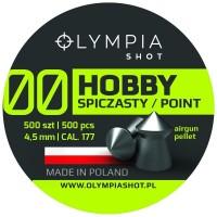 Śrut Olympia Shot Hobby Spiczasty 4,5 mm 500 szt.