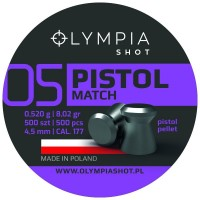 Śrut Olympia Shot Pistol Match 4,5 mm 500 szt.