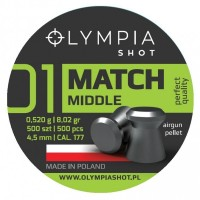 Śrut Olympia Shot Match Middle 4,5 mm 500 szt.