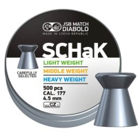 Śrut JSB Schak middle weight 4,49 mm