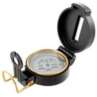 Kompas wojskowy soczewkowy czarny