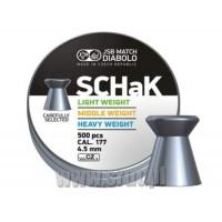 Śrut JSB Schak blue 4,5 mm