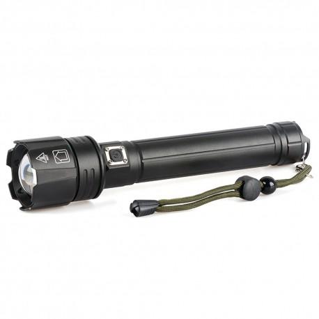 Mocna latarka akumulatorowa LED P90