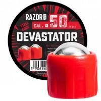 Kule metalowe RazorGun Devastator .50 cal. - 60 szt.