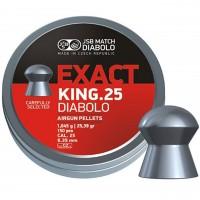 Śrut JSB Exact King 6,35 mm 150 szt.