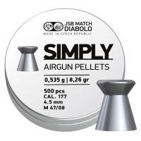 Śrut JSB Simply 4,5 mm 500 szt. 0,535 g