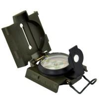 Kompas wojskowy soczewkowy z podświetlaną tarczą