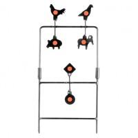 Spinner wiatrówkowy RazorGun 6 celów