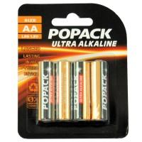 Baterie alkaliczne Popack AA LR6 1,5 V (zestaw 4 szt.)