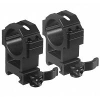 Montaż Leapers QD dwuczęściowy Wysoki 30 mm / Picatinny