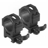 Montaż Leapers QD dwuczęściowy Średni 30 mm / Picatinny