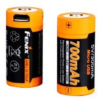Akumulator Li-ion Fenix 16340 700 mAh Micro USB