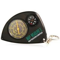 Krzywomierz z kompasem
