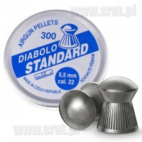Śrut Diabolo Standard 5,5 mm 300 sztuk