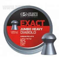 ŚRUT JSB EXACT JUMBO HEAVY 5,52 mm 500 szt.