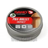Śrut GAMO PBA Bullet Impact 5,5 mm 75 sztuk