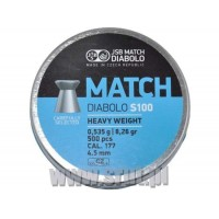 Śrut JSB Match Diabolo Heavy Weight 4,52 mm