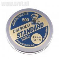 Śrut Diabolo Standard 4,5 mm, 500 sztuk